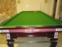 星牌XW105-12S英式斯诺克台球桌