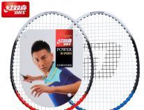 红双喜羽毛球拍双拍家庭男女情侣款2支装控球型羽毛球拍