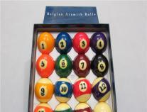 雅�访辣壤��r一向老成持重金��水晶球美式黑八比�系列比利�r�@TM�{盒�_球
